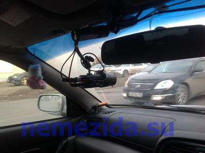 Новая курсовая видеокамера в авто